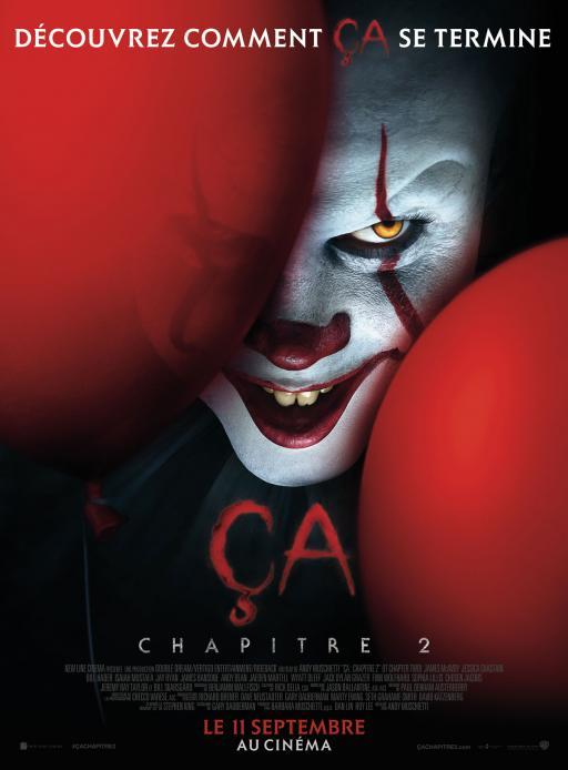 Affiche du film Ça 2 - actuellement en salle au cinéma d'Arbaud
