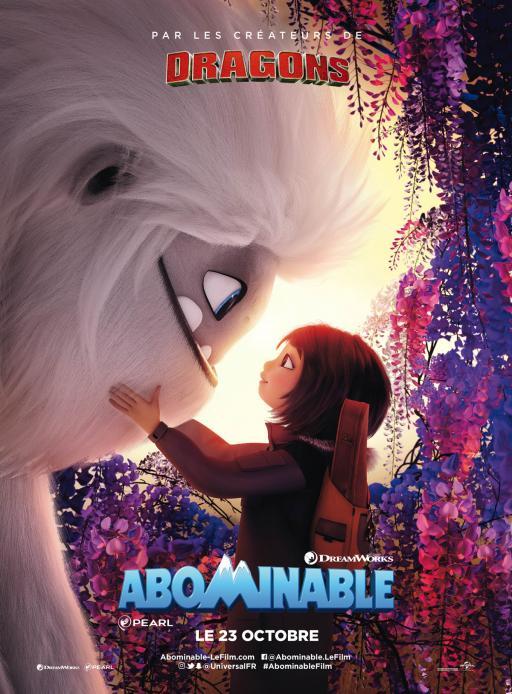 Affiche du film Abominable - actuellement en salle au cinéma d'Arbaud