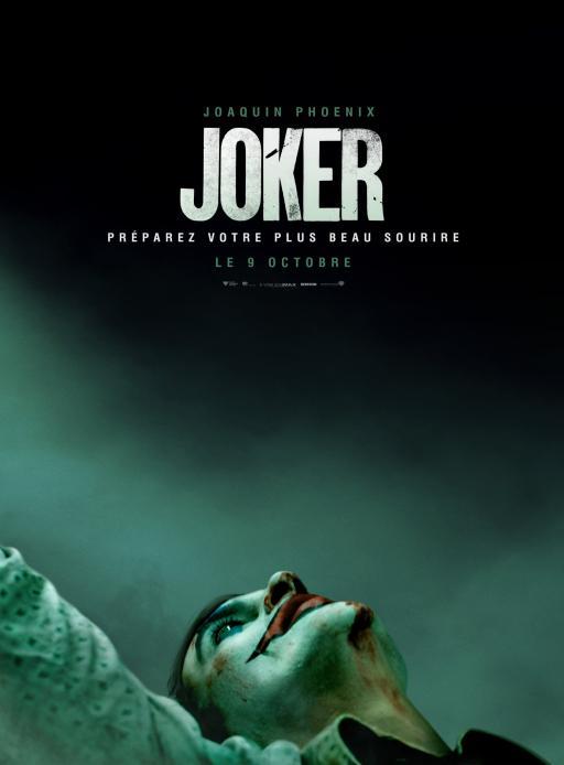 Affiche du film Joker - actuellement en salle au cinéma d'Arbaud
