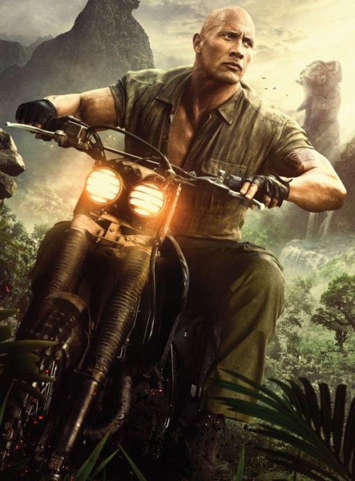 Affiche du film Jumanji: next level - actuellement en salle au cinéma d'Arbaud