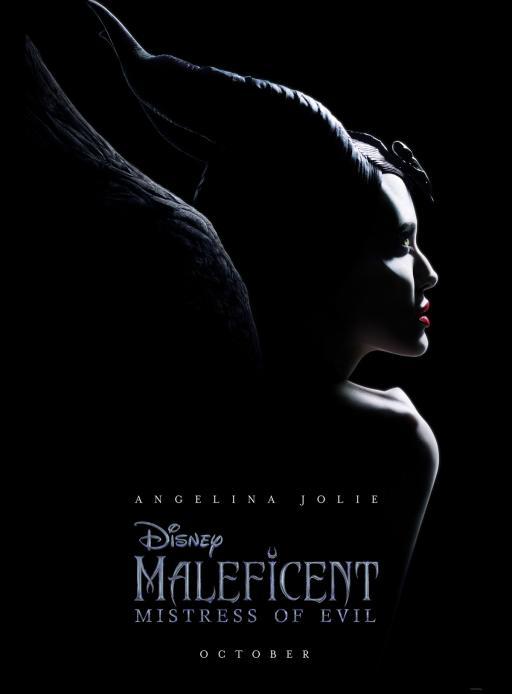 Affiche du film Maléfique : Le Pouvoir du Mal - actuellement en salle au cinéma d'Arbaud