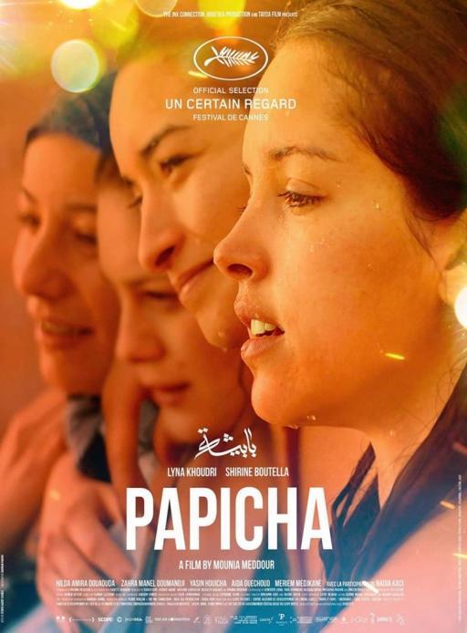 Affiche du film Papicha - actuellement en salle au cinéma d'Arbaud