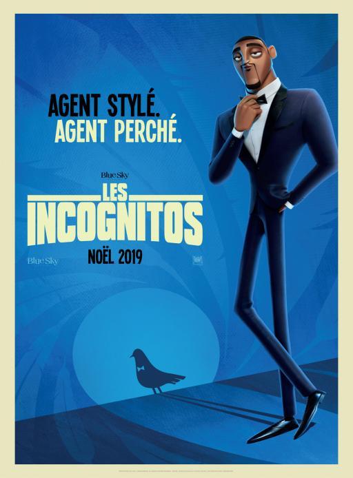 Affiche du film Les Incognitos - actuellement en salle au cinéma Rex