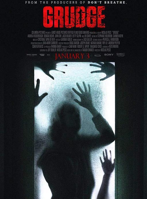 Affiche du film The Grudge - actuellement en salle au cinéma Rex
